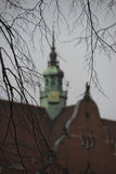 Lubeck church copper roof Stock Photography