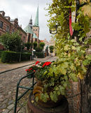 Lubeck. Church Royalty Free Stock Images