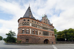 Lubeck City Gate Royalty Free Stock Photos