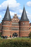 Lubeck gate Royalty Free Stock Image