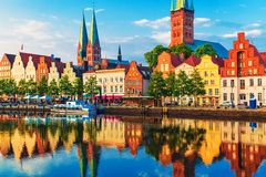 Lubeck, Germania Immagine Stock