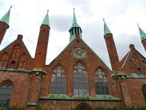 Lubeck in Germany Stock Image