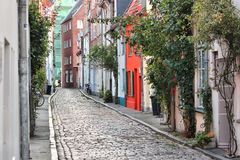 Lubeck, Germany. Lubeck in region Schleswig-Holstein, Germany. Hanseatic City. Old Town architecture Stock Photography
