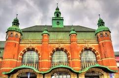 Lubeck Hauptbahnhof railway station - Germany Stock Images