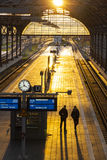 Lubeck Hauptbahnhof railway station, Germany Royalty Free Stock Images