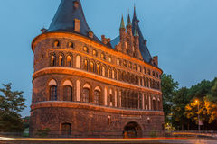 Lubeck, Holstentor Stock Images