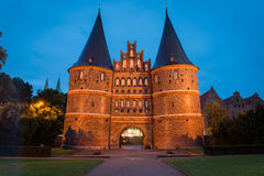 Lubeck, Holstentor Stock Image
