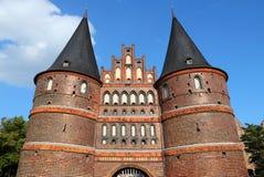 Lubeck - Holstentor Stock Image