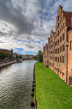 Lubeck. Salzspeicher Royalty Free Stock Photos