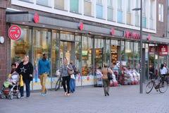 Lubeck shopping Stock Image