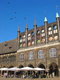 Lubeck town hall Stock Photos