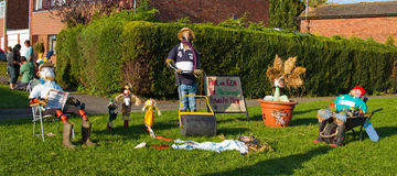 Lubenham Scarecrow Weekend Stock Images