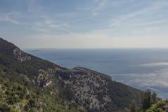 Lubenice in Insel Cres in Kroatien Stockfoto