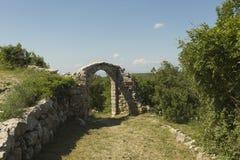 Lubenice in Insel Cres in Kroatien Stockfotografie