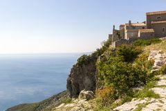 Lubenice in Insel Cres in Kroatien Lizenzfreie Stockfotografie