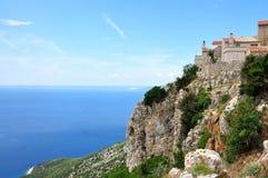 Lubenice miasteczko w wyspie Cres zdjęcia royalty free