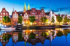 Lubeque, Alemanha Fotos de Stock Royalty Free