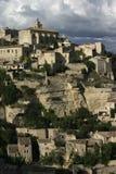 Luberon的戈尔代村庄,东南法国 库存图片