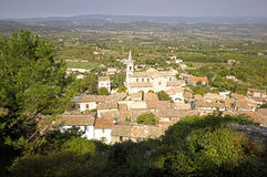 Luberon: city of Bonnieux Stock Photo