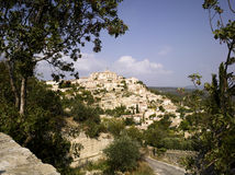 Luberon: city of Gordes Royalty Free Stock Image