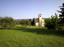 Luberon, Lourmarin: The Protestant Temple Stock Image