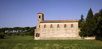 Luberon, Lourmarin: The Protestant Temple Stock Photo