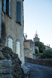In the Luberon, the Menerbes village & x28;Vaucluse - France& x29;. Royalty Free Stock Image