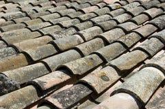 Luberon rooftop Stock Image