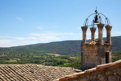 Luberon rooftops Royalty Free Stock Photos
