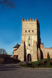 Lubert castle in Lutsk Royalty Free Stock Photography
