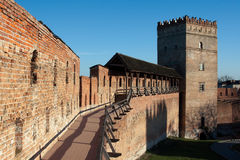Lubert castle in Lutsk Stock Image