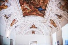 Lubiaz, Polonia - 7 de mayo de 2017: abadía cisterciense interior en Lubiaz Fotografía de archivo