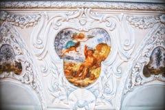 Lubiaz, Polonia - 7 de mayo de 2017: abadía cisterciense interior en Lubiaz Imagen de archivo libre de regalías
