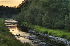Lubina Fluss Lizenzfreie Stockbilder