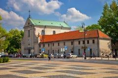 Lublin Capuchin monastery Royalty Free Stock Image