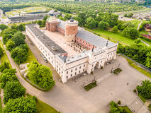 Lublin - castle. Attractions Lublin view from the air. Stock Photography