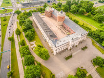 Lublin - castle. Attractions Lublin view from the air. Royalty Free Stock Image