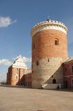 Lublin castle courtyard Stock Photography