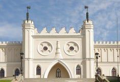 Lublin castle entrance Stock Photos