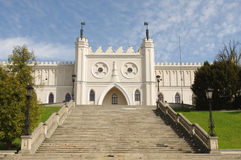 Lublin castle front view Royalty Free Stock Images