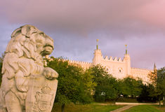 Lublin castle, Poland Royalty Free Stock Images