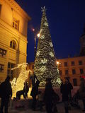 Lublin at Christmas, Poland Stock Photography