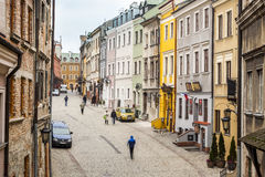 Lublin city center, Poland Royalty Free Stock Image