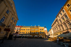 Lublin city Royalty Free Stock Photo
