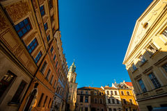 Lublin city Royalty Free Stock Image