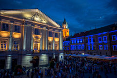 Lublin city Stock Photography