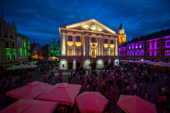Lublin city Stock Photo