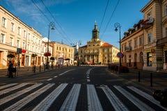 Lublin city Stock Photos