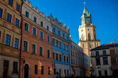 Lublin city Stock Images
