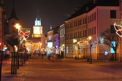 Lublin city Stock Image